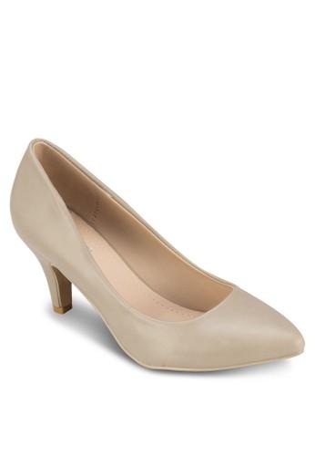 Lucy 尖頭中esprit女裝跟鞋, 女鞋, 厚底高跟鞋