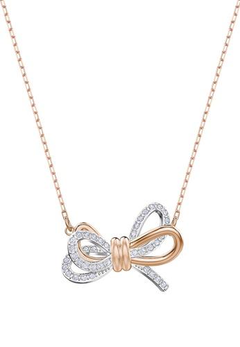 SWAROVSKI multi Lifelong Bow Pendant Necklace F71E2AC68D9634GS_1