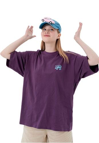 Twenty Eight Shoes Trend Printed Short Sleeve T-shirt HH1140 937F2AA795EC59GS_1