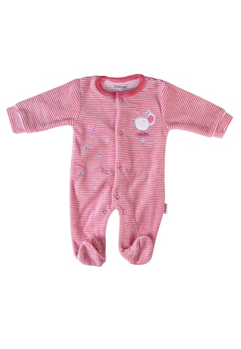 Babybol red Baby Long Sleeve Romper A12C8KA1B3A12BGS_1