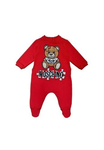 MOSCHINO BABY KID TEEN red MOSCHINO BABY ROMPER 04AC2KA0B509C4GS_1