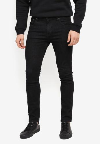 MANGO Man grey Super Skinny Black Chuck Jeans MA449AA0T1EDMY_1