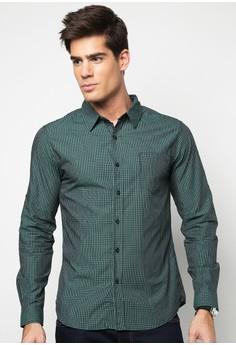 Bench Men's Classic Checkered Long Sleeve Shirt