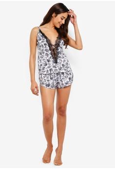 798e7957d2 36% OFF Ann Summers Voyeur Lace Up Cami Set S$ 63.90 NOW S$ 40.70 Sizes XS  XL