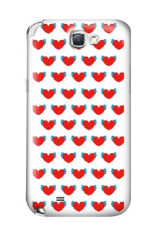 Winged Hearts Glossy Hard Case for Samsung Galaxy Note 2