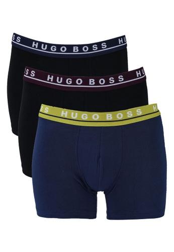 BOSS multi 3-Pack Cotton Boxer Briefs - BOSS Bodywear BD81DUS5D37045GS_1