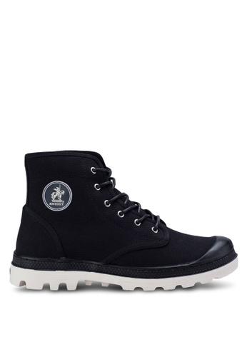 Knight black Hi Top Sneakers KN875SH02AAVMY_1
