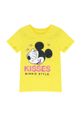 FOX Kids & Baby yellow Mickey Mouse Tee F9E6FKA7E66830GS_1