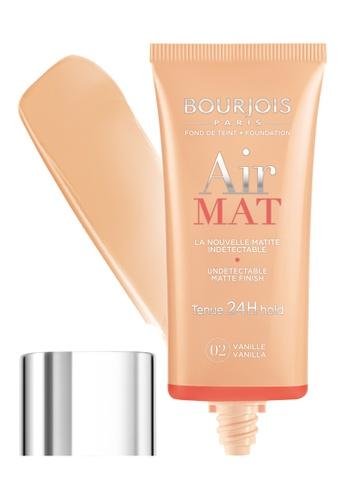 BOURJOIS Bourjois Air Mat Undetectable Matte Finish 24H Foundation For Women, #02 Vanilla BO885BE35NGUSG_1