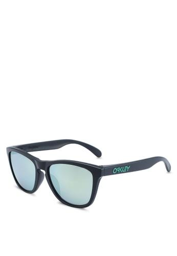 Oakley black Performance Lifestyle OO9245 Sunglasses 99C83GLB16CAD6GS_1