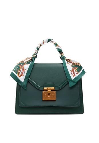 ALDO green Kella Top Handle Bag 37564AC9292FF0GS_1