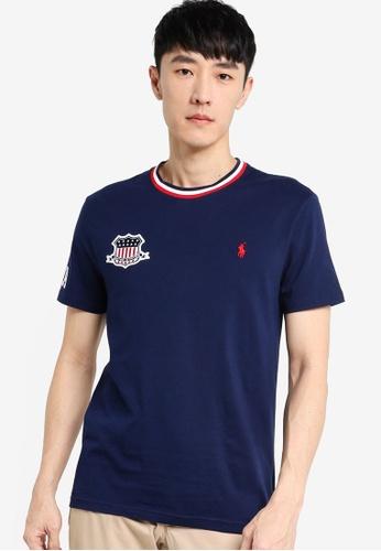 Polo Ralph Lauren navy Short Sleeve T-Shirt 0B8B2AA156EAECGS_1
