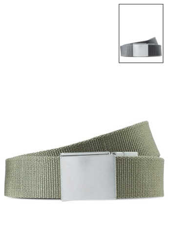 SUPERDRY green Exclusive to Zalora - Reversible Canvas Belt ED225ACBE5C683GS_1