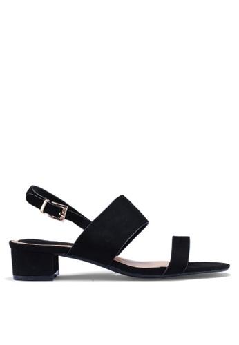 Noveni 黑色 休閒高跟鞋 B8062SHC4C454FGS_1