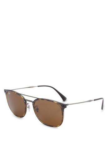 Ray-Ban brown RB4286 Sunglasses RA896GL59LEEMY_1
