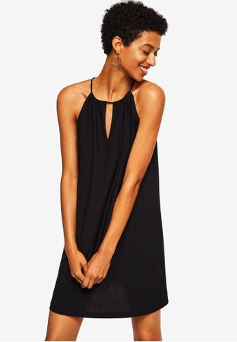 Mango black Halter Neck Dress 821E4AA7EA4A63GS_1