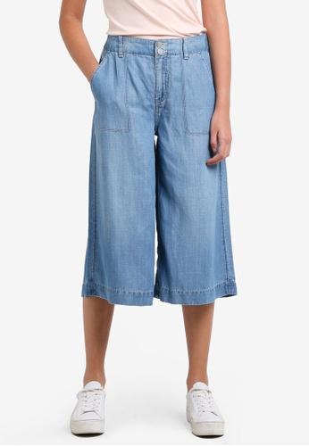 Calvin Klein blue Wide Culottes - Calvin Klein Jeans CA221AA0RWUEMY_1