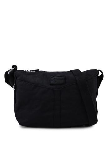 Bagstationz black Crinkled Nylon Mini Sling Bag 2E5F5AC6AE73F1GS_1