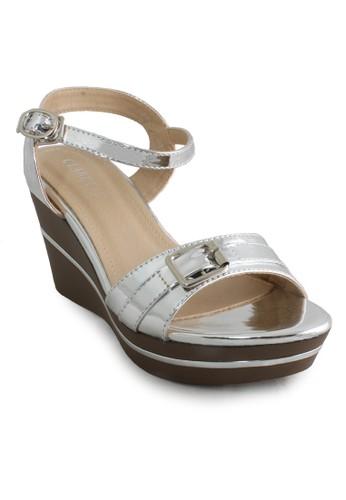 Clarette silver Clarette Wedges Keisha Silver CL076SH93CMSID_1