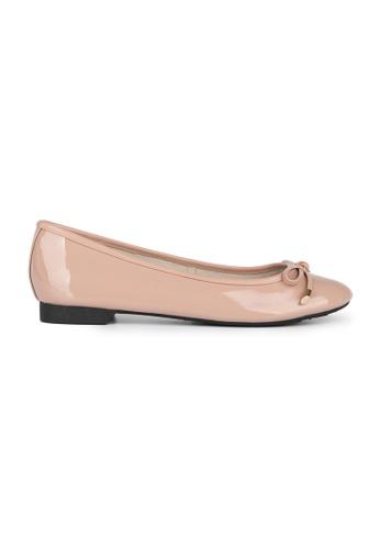 MAUD FRIZON pink Soft Patent Leather Ballerina 2595ASH0355A19GS_1