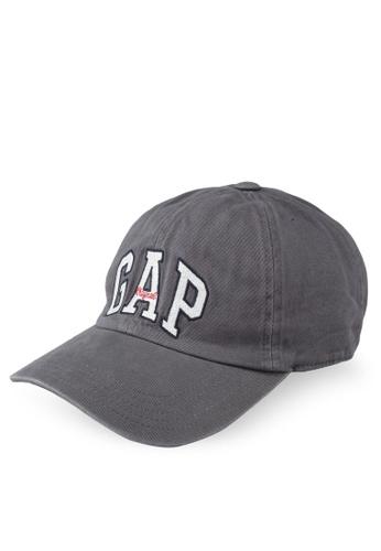 5a35aea945e GAP grey Gap Arch Cap 48F15AC84C8D56GS 1