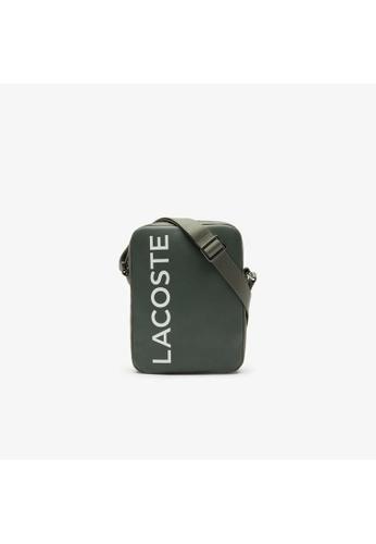 Lacoste Lacoste Men's L.12.12 Signature Leather Cross Body Bag-NH2933IA 0A15BAC68386AEGS_1