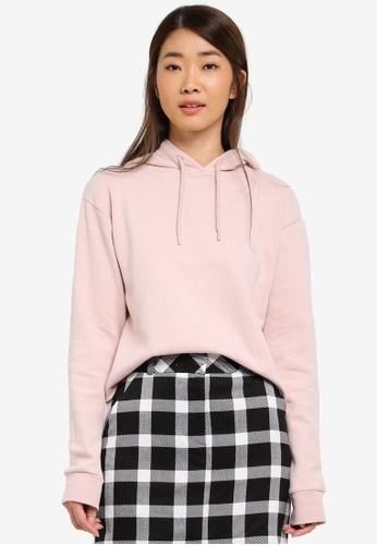 Miss Selfridge pink Pink Gigi Hoody 62839AA7F23F95GS_1