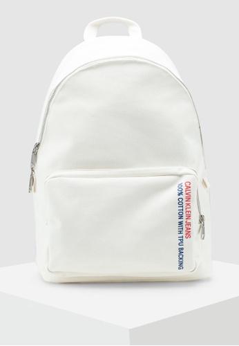 8f59016d095 Calvin Klein white Campus Backpack - Calvin Klein Accessories  56ADBAC2C67961GS_1