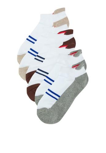 三入羅緞條紋踝襪、 服飾、 <a href=