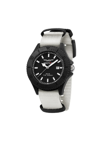 Sector 白色 Sector Save The Ocean 43mm 白色男仕腕錶 R3251539003 7062CAC3A0AC88GS_1