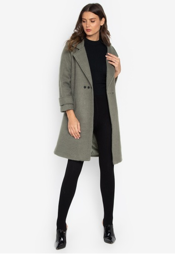 Well Suited grey Loose Trench A2E47AADE8F1EEGS_1