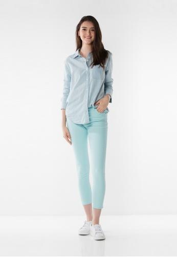 Levi's blue Levi's® 721 High Rise Skinny Ankle Pants C2592AA30E42C0GS_1