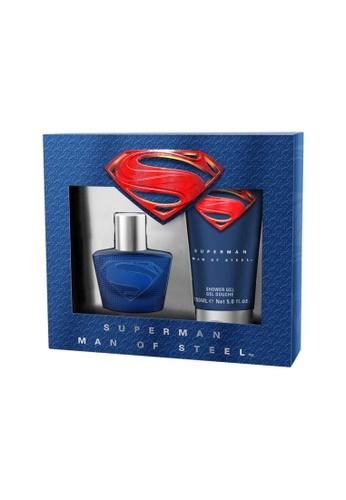 Superman Superman Man of Steel EDT 30ml + Shower Gel [YS412] FD070BE1355698GS_1
