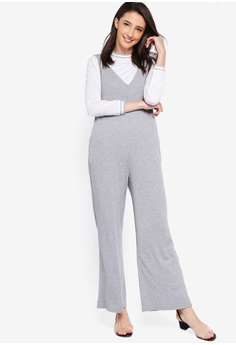 171af616e21 60% OFF Zalia Rib Jumpsuit With T-Shirt S  44.90 NOW S  17.90 Sizes XS