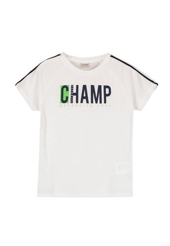 LC Waikiki white Boy's Printed Cotton T-Shirt 75CF0KA3F4EDC5GS_1