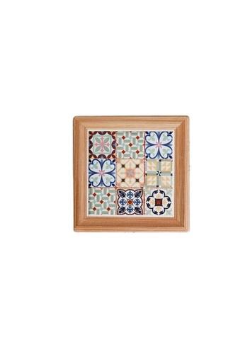 Table Matters multi Peranakan  Coaster (Cup)-F (Dim: 10.8 x 10.8 x 0.7cm) 1957AHLF3315E5GS_1