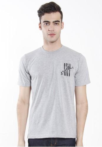 JOULDAS grey Jouldas Grey Men T-Shirt BDBB4AA3D5996CGS_1