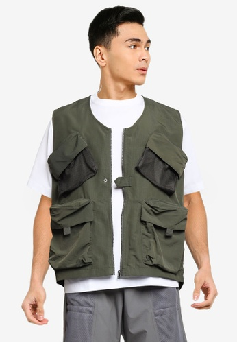 niko and ... green Safari Vest FEEE0AA5493123GS_1