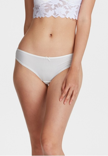 6IXTY8IGHT white SITTI SOLID, All-over Lace Cheeky Panty PT10281 7EC86US7383684GS_1