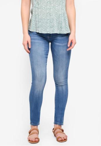 ICHI blue Erin Izaro Blue Jeans FC228AA98CE32FGS_1