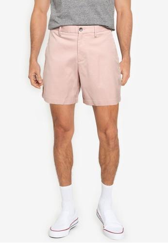 Banana Republic pink Aiden 7 Cotton Shorts DDF60AA5DF9186GS_1