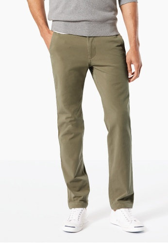 Dockers green Dockers 360 Standard 4-way Stretch Slim Tapered Pants Olive 6910EAA67ECFDBGS_1