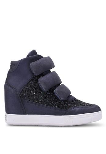 Guess blue Fosca Platform Sneakers GU020SH0S7L1MY_1