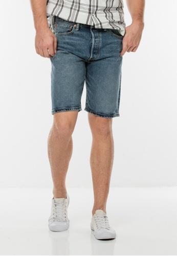 Levi's blue 501® Original Fit Shorts LE843AA73SWWSG_1