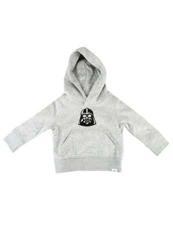 GAP grey Darth Vader Graphic Hoodie 86634KACF13958GS_1