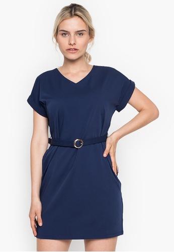 CLN blue Solidarity Dress B928BAA54428D1GS_1