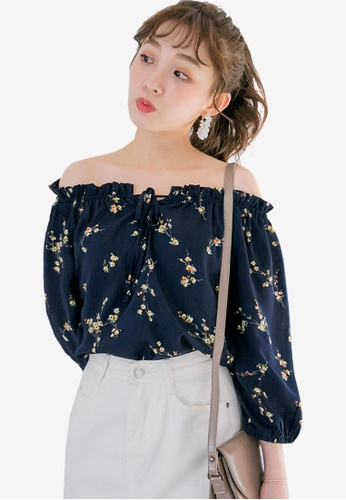 602a457592a3f Shop Sesura Gleaming Beauty Floral Top Online on ZALORA Philippines