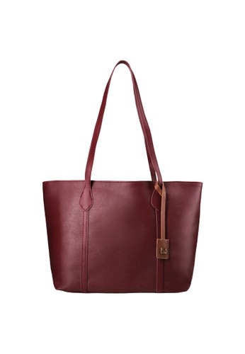 MAYONETTE red MAYONETTE Verda Tote Bag - Tas Totes Fashion Wanita - Maroon 45D18AC668A7C4GS_1