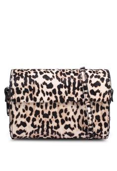 425ed58d5a MANGO beige Animal Print Leather Bag 97017ACFF7A7ACGS 1
