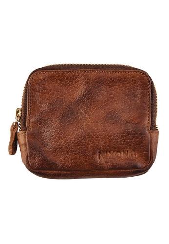 Nixon brown Nixon - Bayside Zip Coin Wallet Brown NI855AC96EHRSG_1